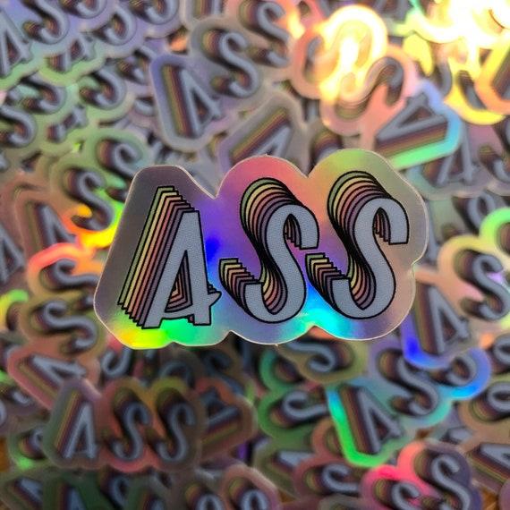 HOLOGRAPHIC STICKER- Ass