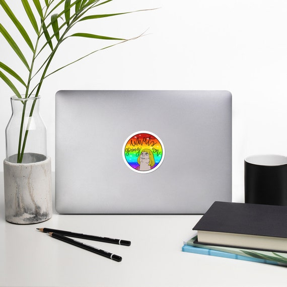What's Going On: Bubble-free stickers
