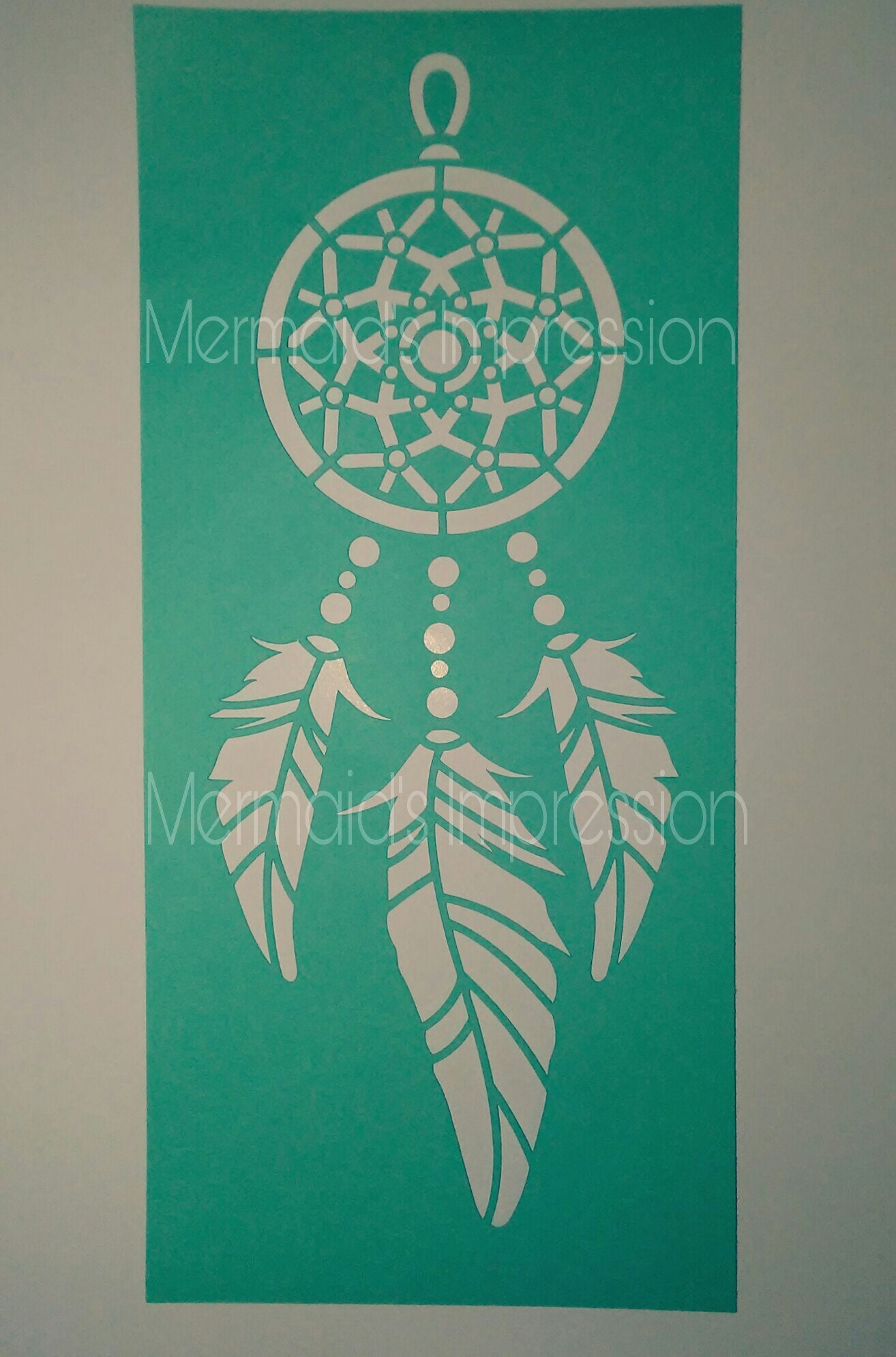 cd8332c000c6 Dreamcatcher Dream Catcher Stencil Reusable or One Time Use Buy 2 get 1  FREE Every Day!!