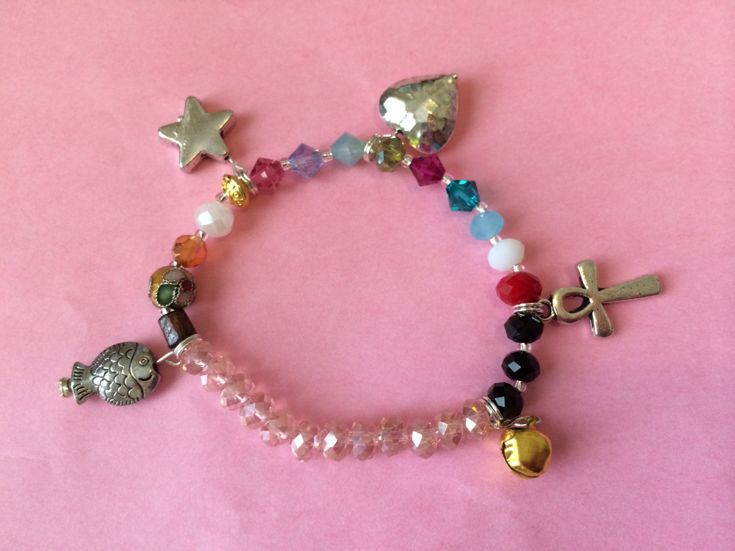 The Most Beautiful Story Ever Told Charms Bracelet Jesus   Etsy