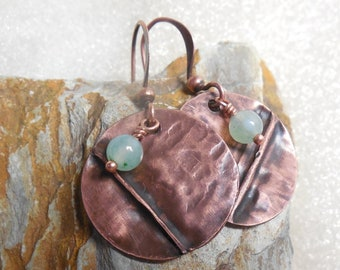 Eye Of Shiva Artisan Copper Pendant Metalsmith Handcrafted Gift For Mom Sister Friend Yoga Instructor Third Eye Chakra Balance Intuition