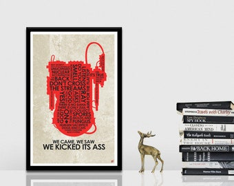 GhostBusters Quote Poster
