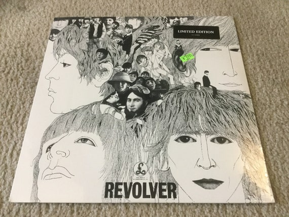 The Beatles Revolver Vinyl Record LP Album limited edition 1995 Sealed