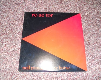 Neil Young and Crazy Horse reactor Vinyl record LP