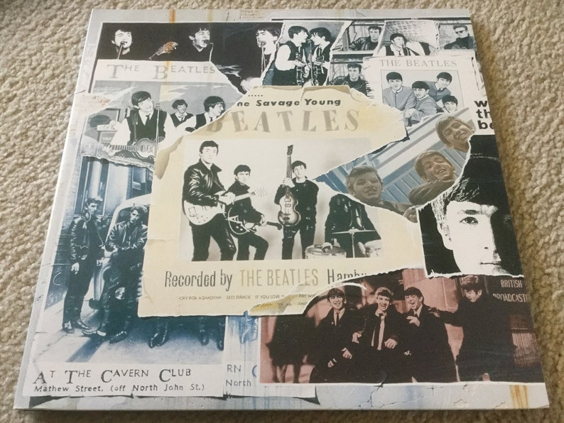 The Beatles Anthology Vol 1 Vinyl Record Set 3LP 1995 UK Import