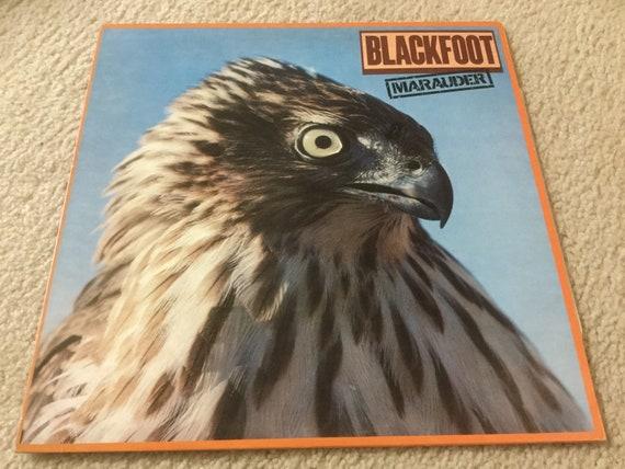 Blackfoot Marauder Vinyl Record Lp Rock N Roll Album Etsy