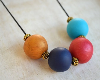 Cote D'Azur - Polymer Clay Necklace
