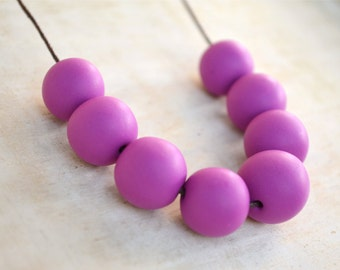 Boysenberry - Polymer Clay Necklace