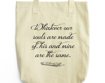 Wuthering Heights Tote - Book Bag