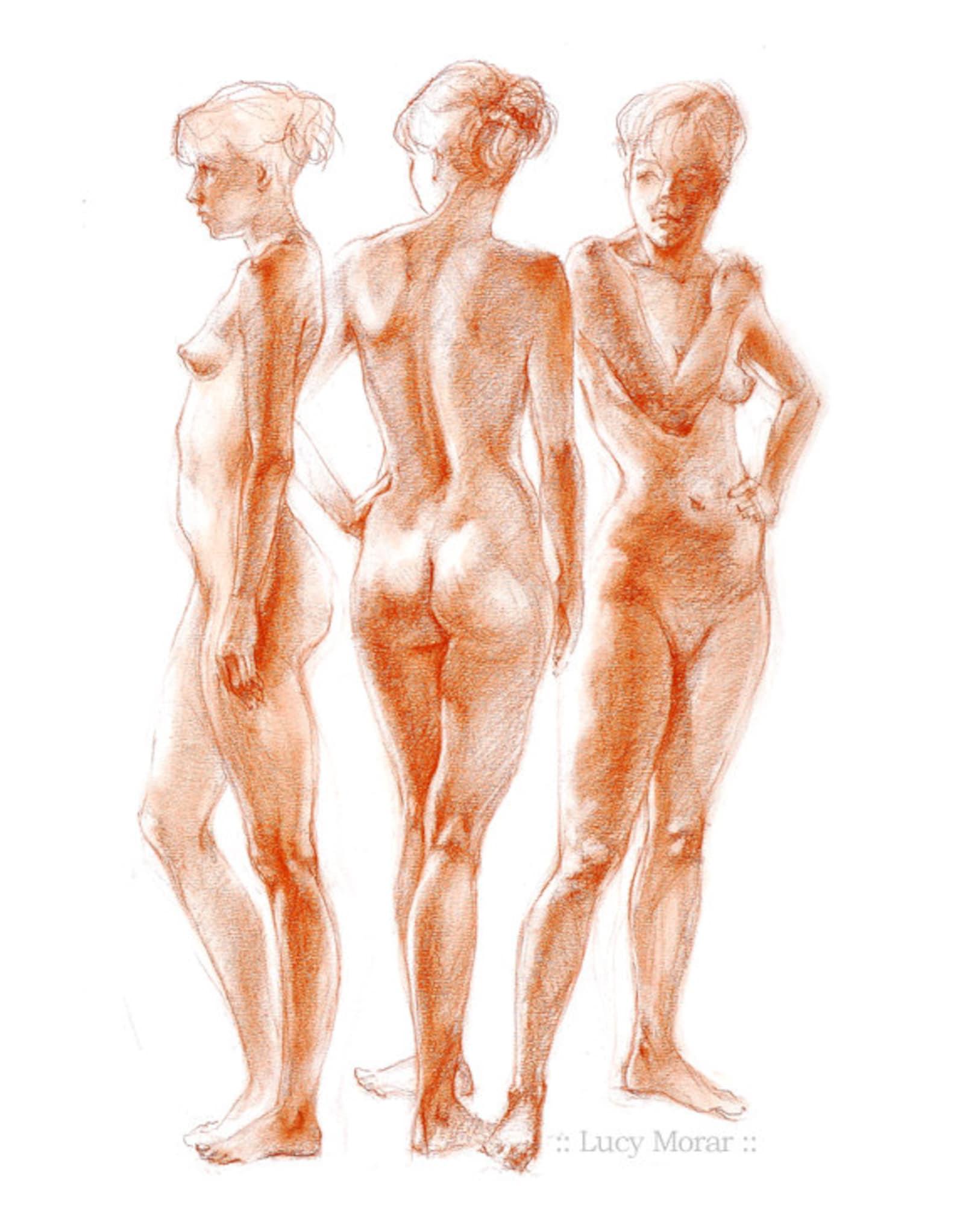 Nude female art blog artist kerstin craig carrion