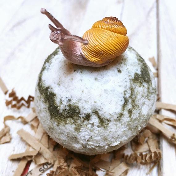 2 Organic Kids Bath Bombs - Kids Lemongrass Bath Bombs