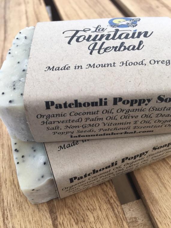 Patchouli Soap - Organic  Soap