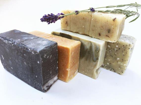 4 Organic Soaps - Handmade Soaps