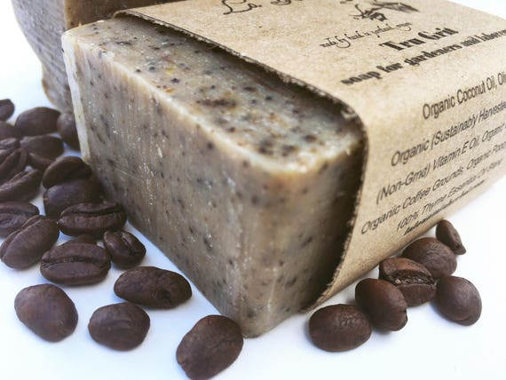 Coffee Soap - True Grit - Organic Soap