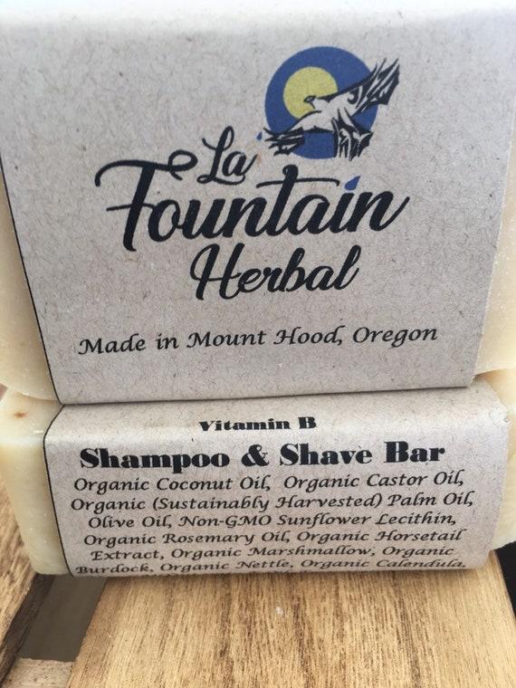 Organic Shampoo - Herbal Shampoo Bar