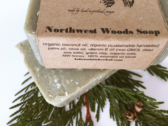 Northwest Woods Soap - Organc Soap