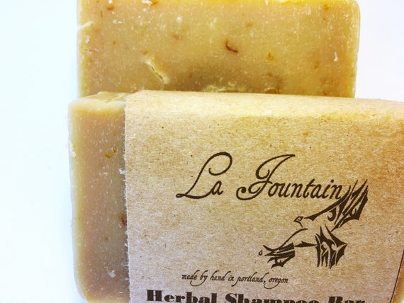 Shampoo Bar - Organic Shampoo - Herbal Soap