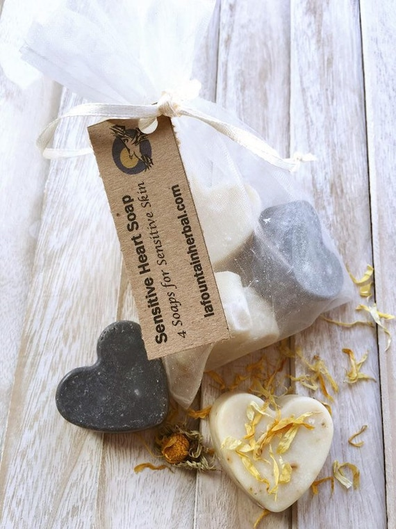 Gift Soap Hearts|Custom Gifts|Organic Soap Gifts
