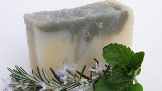 Detoxifying Mint Soap - Organic Soap