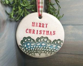 Ornament Ceramic Handmade