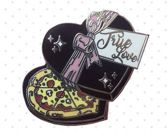 Pizza Lover (Hard Enamel Pin)