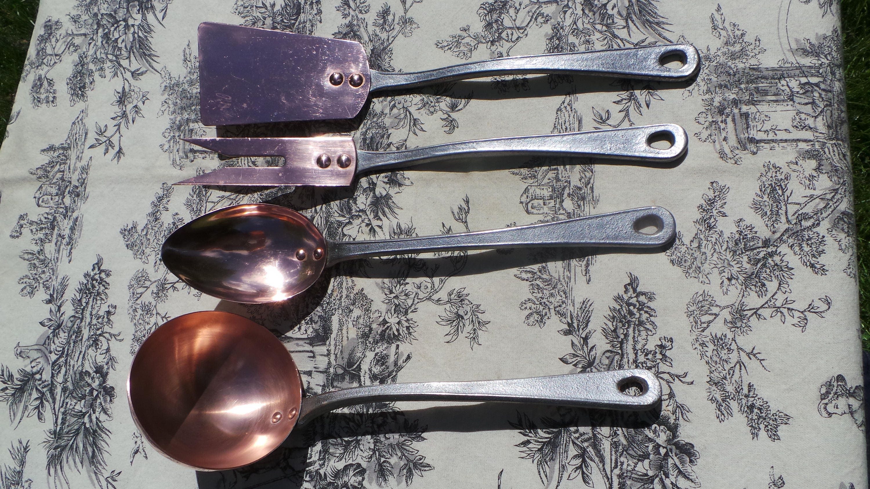 Reserved Fork Spatula Copper Utensils Quality Cast Iron