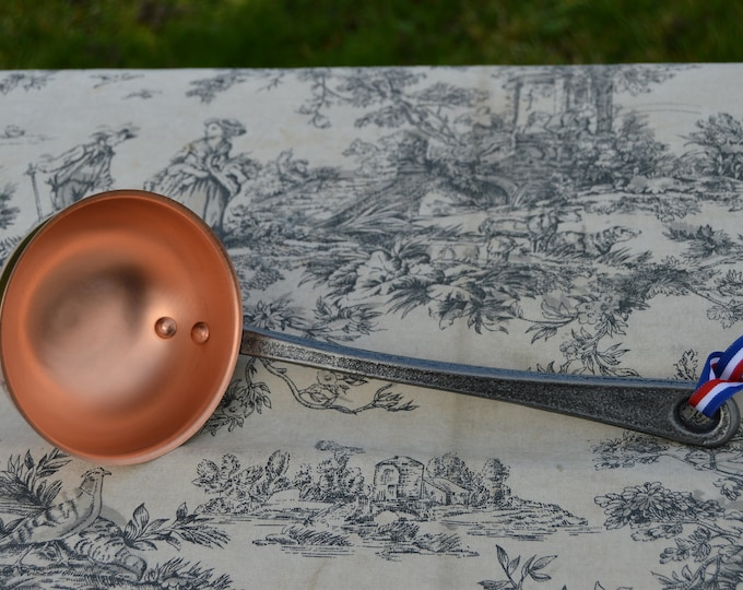 New NKC Copper Ladle from Normandy Kitchen Copper Jam Jelly Spoon Louche Iron Handle Ladle New Normandy Kitchen Copper NKC Collection