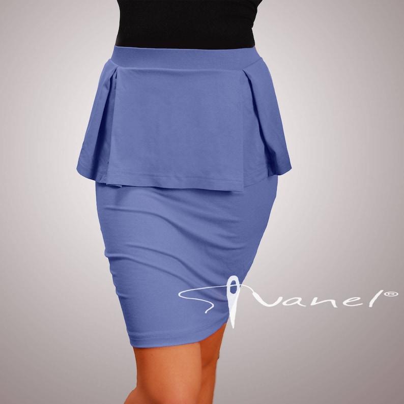 S,M,L Peplum Skirt Peplum pencil skirt Pencilskirt Women/'s Clothing Red peplum skirtBlack skirt Business skirt IVANEL28 colors