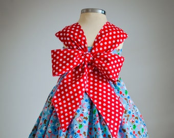 Praline Party Dress PDF Pattern 12m - 14y