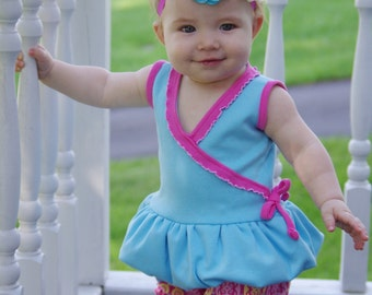 Magic Gumdrop Bubble Dress - Tunic PDF pattern Newborn - 12-14y