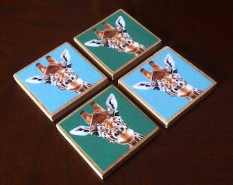 Giraffe Magnets (set of 4)