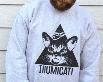 Cat Sweater, Cat Sweatshirt, Cat Jumper, Sweatshirts, Cat Sweatshirt Women, Cat Gift, Gift For Mum, Cat Gift Women, Womens Gifts, Cat Print