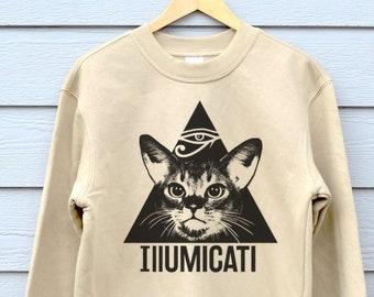 Cat Sweater Etsy