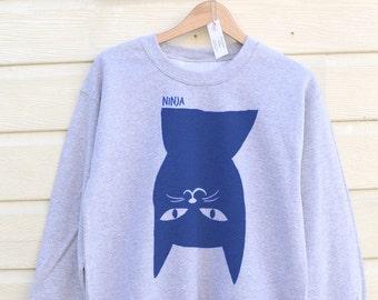 Cat Sweater Cat Sweatshirt Women Cat Gift Mens Cat Sweatshirt Sweatshirts Gift For Mum Cat Lovers Gift For Her Cat Gift Women Womens Gifts