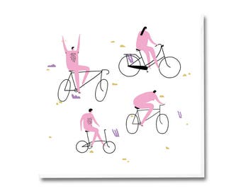 Greeting Card - Bikers