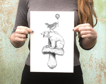 Baloons and Wild Mushrooms
