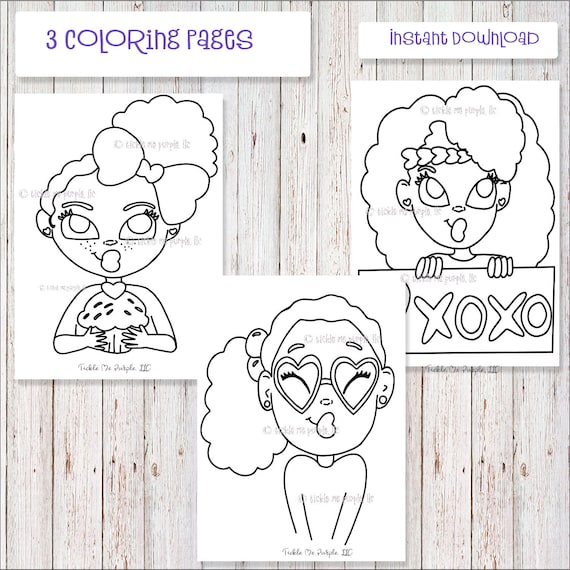 African American Coloring Pages For Kids - Coloring Home | 570x570