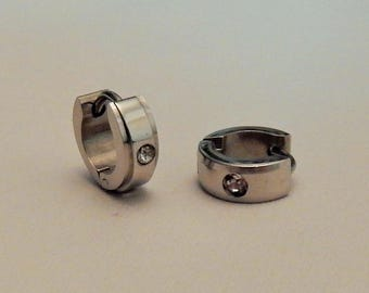 Surgical stainless steel earrings