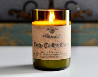 Candle/Scented Soy Wax Candles/Home Decor/Candles/Wine Candle/Candles