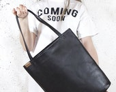 Work tote bag - vegan leather tote New job gift Best selling items