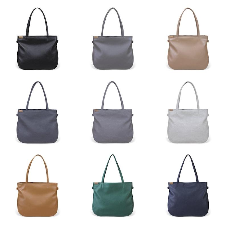 Shoulder bag & cross body bag  Girlfriend gift  Vegan purse image 0