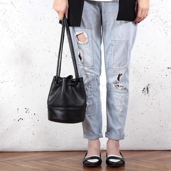 669a10340e82 Saq bag black bucket bag crossbody shoulder pouch sac purse