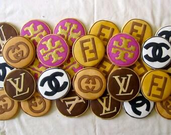 Designer Logo Cookies