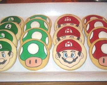 Super Mario Bros. Cookies