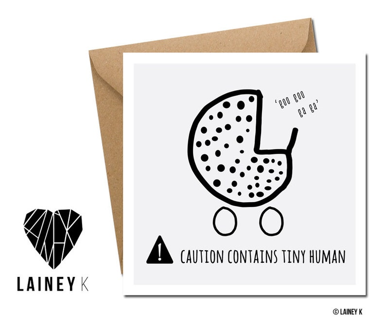 Caution Contains Tiny Human image 0