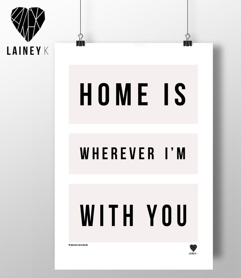 Home is Where-ever I'm With You image 0
