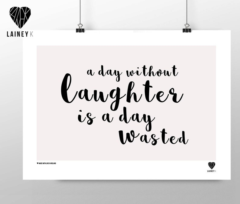 A day without laughter image 0