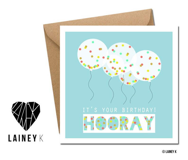 Hooray It's Your Birthday image 0