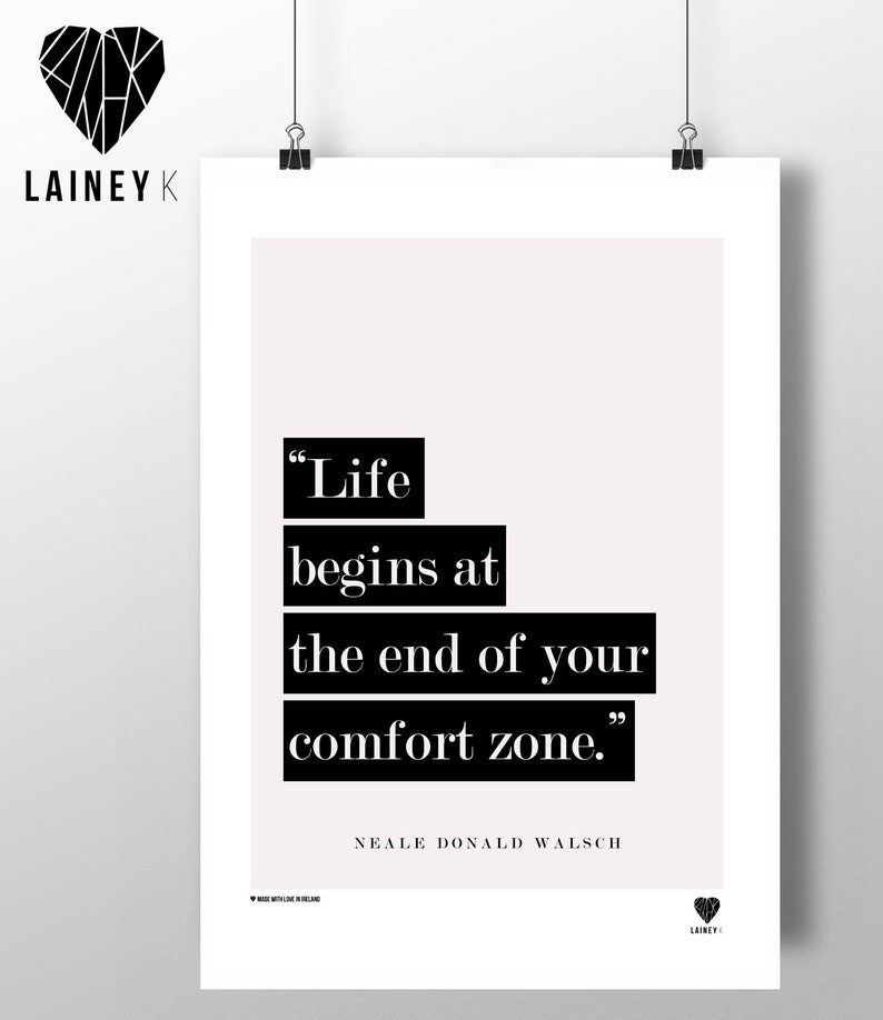 Life Begins at the end of your Comfort Zone image 0