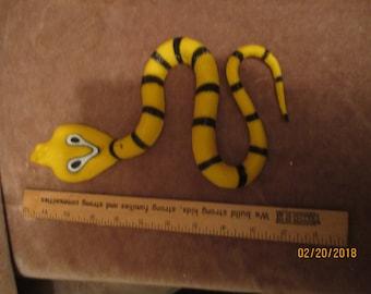 Cobra rubber snake